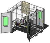 Système de robotique à station unique avec inclinaison du positionneur de tourner
