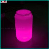 재충전용 LED 맥주 캔은 램프를을%s 가진 광고한다 테이블 램프를 병에 넣는다