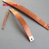 Connecteur tressé en caoutchouc flexible en cuivre de haute qualité