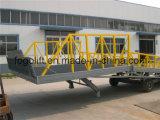 Prezzo idraulico mobile strascicato della rampa della Pattino-Prova per caricamento del contenitore