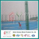 Preço revestido Chain galvanizado da cerca da ligação Chain de ligação Fence/PVC/cerca do ferro