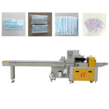 3-laags Nonwoven Disposable Face Mask Automatic Flow Packaging machine Pillow Type