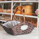(BC-WF1033) respetuoso del medio ambiente natural hecho a mano del sauce cesta de la flor