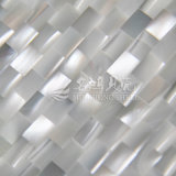 Azulejo del rectángulo del mosaico del shell de Trochus