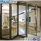 Двери алюминия Australian/USA/EU стандартные/алюминиевых складчатости