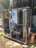 Gerador de ozônio com tanque de mistura e bomba de mistura