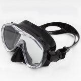 Maskers van de Scuba-uitrusting van het Glas van het lage Volume de Silicone Aangemaakte (mk-102)