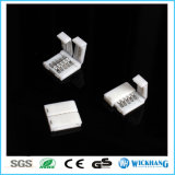 Conector con clip 5pin RGBW del acoplador de Solderless para la luz de tira de 5050 LED