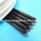 UL Kokers van de Glasvezel van het Silicone van het certificaat de Rubber Met een laag bedekte voor de Uitrusting van de Draad