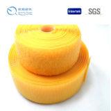 Qualidade durável gancho personalizado e laço materiais de nylon usados para o saco