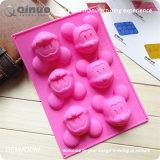 ミッキーマウスのピンク20*14.2*2.8cmのシリコーンのケーキ型