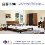 Het gemakkelijke Geassembleerde Houten Bed van het Meubilair van de Reeksen van de Slaapkamer (sh-003#)