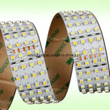 4 righe 24volt SMD3528 6000k raffreddano l'indicatore luminoso di striscia flessibile bianco del LED