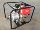 3 pouces de moteur diesel de pompe à eau actionnée