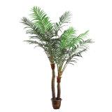 Decoración para el hogar Evergreen pequeña planta artificial en maceta