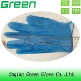 Голубой Housework очищая защитные устранимые перчатки PVC для пользы семьи