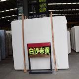 Telha de revestimento branca personalizada do tamanho do mármore da laje para o agregado familiar