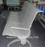 AGTwc004病院空港ステンレス鋼の公共の待っている椅子