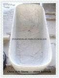 Baignoire en marbre et pot pour maison et hôtel