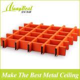 Künstlerische farbige geöffnete Zellen-Decke des Aluminium-100*100 für Speicher