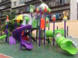 Детей слайд пластиковую детскую площадку оборудования (YL24486)