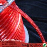 PVCボディ防水赤いストリップLEDロープライト