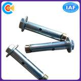 Viti su ordine di espansione dell'ancoraggio del manicotto della testa di esagono/inossidabile del acciaio al carbonio