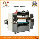 Papier thermique Jt-Slt-900 trancheuse rembobineur papier ATM coupeuse en long