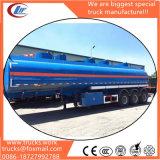 3 acoplados del buque de petróleo del árbol 40000 litros de gasolina del depósito semi del acoplado de la gasolina del transporte de acoplado del tanque