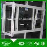 Деревянное окно качания окна цвета UPVC для социальных проектов