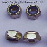 DIN985 type écrous de blocage en nylon pour le couple de Prevaling