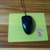 Cuadrado fino multicolor cómodo y durable de silicona del cojín de ratón
