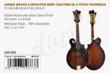 Mandolino elettrico Maf010e di stile del corpo F dell'acero laminato marca di Aiersi