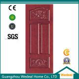Portello di legno solido dell'impiallacciatura di legno interna per le Camere