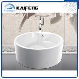 Dos de Lujo Independiente Persona bañera redonda con el asiento (KF-759)