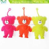 Light Up Soft Plastic Spike Bear Ball Kid Toy