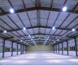 A construção de aço industrial de 2017 projetos de construção do edifício do metal verteu construção de aço clara pré-fabricada
