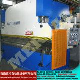 Wc67y tipo CNC chapa de aço hidráulico dobrando e dobrando máquina