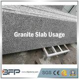 Камень сляба гранита серым каменным выкристаллизовыванный настилом для строительного материала проекта