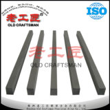 Buenas tiras de desgaste del carburo cementado de la resistencia de desgaste para el uso de la pieza del desgaste