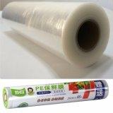 Umweltfreundliches PET Plastikausdehnung haften Nahrungsmittelverpackungs-Film-Tunnel-bohrwagenbandspule an