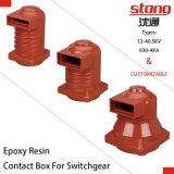 isolador da resina Epoxy da caixa do contato de 12kv 1250A