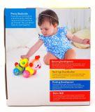 Stuk speelgoed van de Baby van de Worm van jonge geitjes het Plastic Onderwijs Kruipende