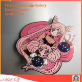 Promotional Custom Design Metal Print Epoxy Lapel Pin Companyの社員バッジ