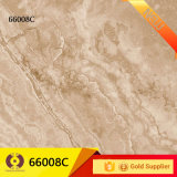 бежевый мрамор 600X600 кроет плитку черепицей стены пола фарфора (66008B)