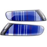 Schwarzer Speedwell blauer Abwechslungs-Seiten-Lampen-Deckel für Mini Cooper