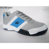 Новый спорт способа PU обувает No типа вскользь ботинок: Shoes-1704 Zapato
