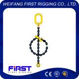 1本の足のチェーン持ち上がる吊り鎖の溶接された合金鋼鉄G80