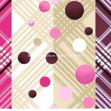 проверка 100%Polyester и МНОГОТОЧИЕ Pigment&Disperse напечатали ткань для комплекта постельных принадлежностей