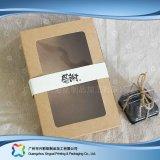 KlimaPACKPAPIER-faltbarer verpackenkasten für Nahrungsmittelkuchen (xc-fbk-031)